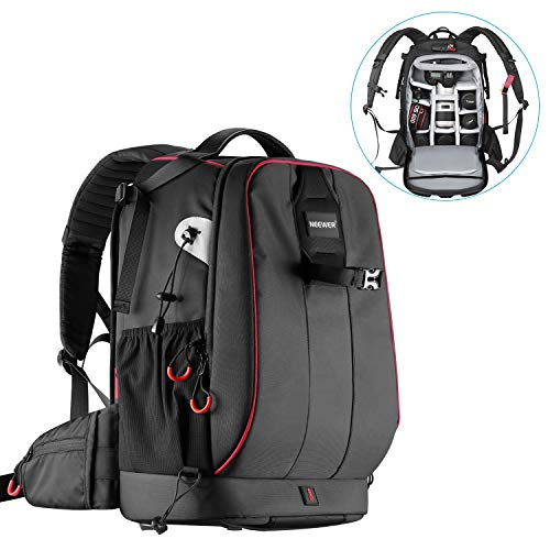 Neewer Pro Camera Case Waterproof Shockproof Adjustable Padded Camera Backpack Bag...