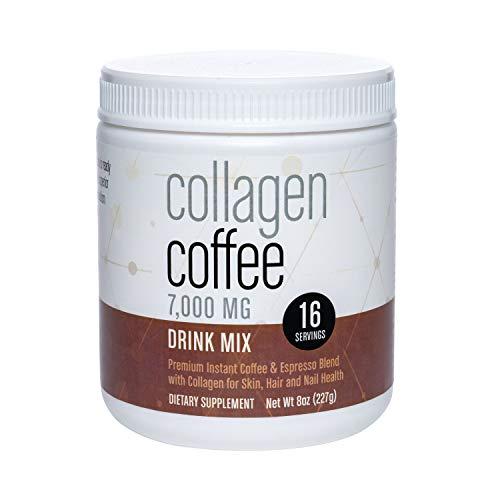 360 Nutrition Collagen Coffee | Premium Colombian Coffee | Hydrolyzed Collagen from Brazil | 8 oz
