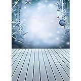 Fondo de fotografía de Tema de Navidad Personalizado de Vinilo Fondos de Retrato de niños para Accesorios de Estudio fotográfico A6 2,7x1,8 m
