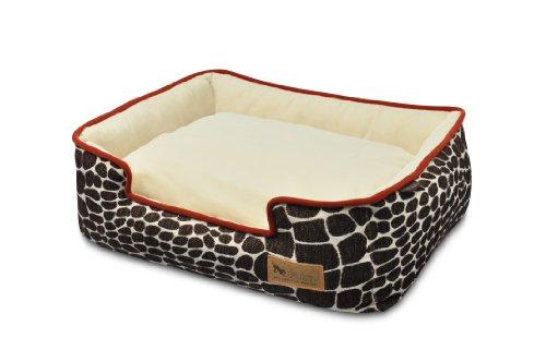 P.L.A.Y. (Pet Lifestyle And You)-Panier 'Lounge Bed', Moderne, Ergonomique et Écologique, Dehoussable, Lavable au Lave-Linge, Qualité Supérieur, 4 Tailles