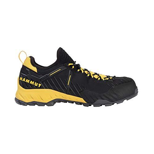 Mammut Herren Zapatilla ALNASCA Knit II Low GTX Sneaker, Black/Freesia, 42 EU