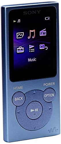 Sony NW-E394 Lettore Digitale Portatile, 8 GB, Blu