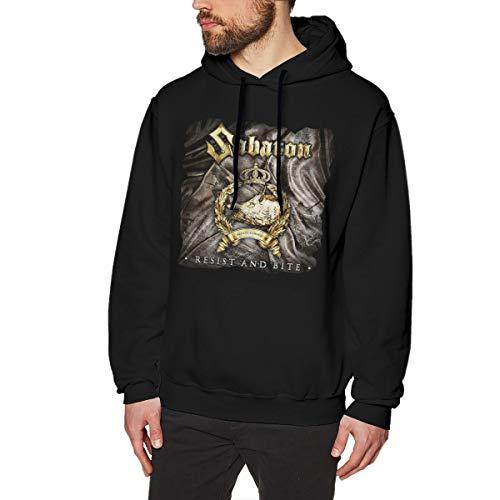 MYHL Men's Sabaton Graphic Fashion Sport Hip Hop Hoodie Sweatshirt Pullover Tops