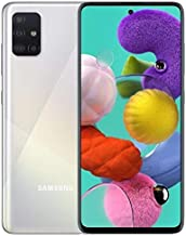 "Samsung Galaxy A71 SM-A715F/DS 4G LTE 128GB + 8GB Ram 6.7"" 4G LTE - Prism Crush Silver"