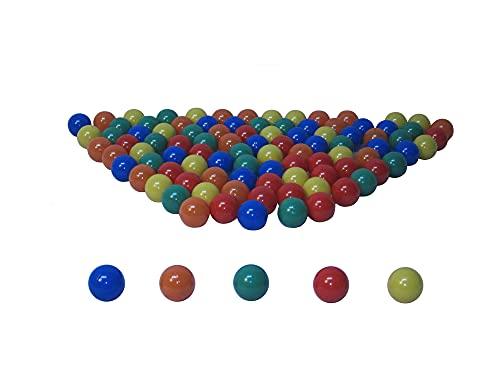 koenig-tom 400 Unidades 6 cm Pelotas para niños Bällebad Babybälle Plastikbälle sin plastificantes (TÜV Test Report de noviembre / 2012)
