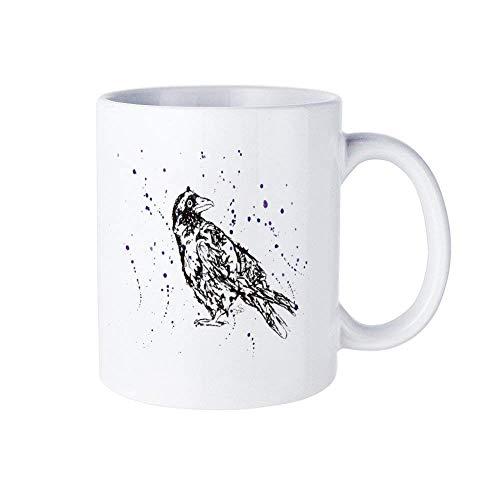 Camiseta para niños, camiseta para niños, camiseta de acuarela de cuervo, camiseta, camiseta de pájaro para niños, camiseta de cuervo para niñas, camiseta de cuervo de pájaro oscuro, camiseta de cuerv