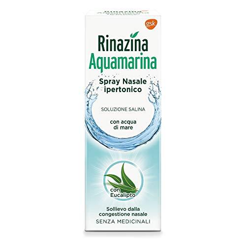 Rinazina Aquamarina Spray Nasale Ipertonico - 20 ml