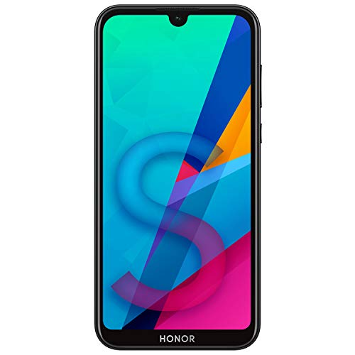 HONOR 8S Dual SIM, 32GB storage, 13MP AI Rear Camera, 5.71 Inch Full View Display, Android 9.0, UK Official Device - Black