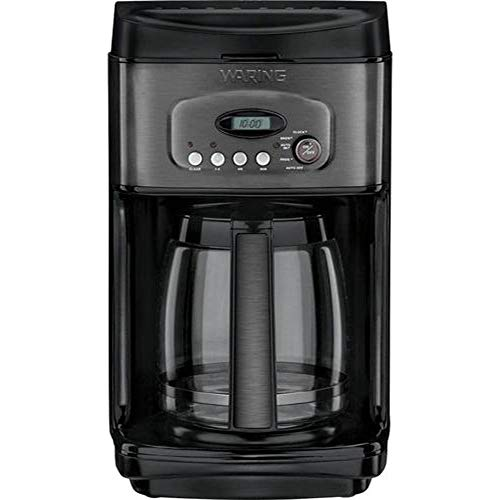Waring Pro - 14-Cup Coffee Maker - Black stainless steel