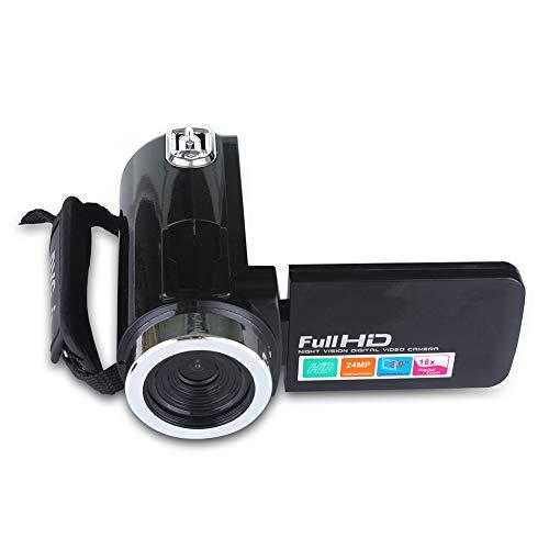 shenruifa Kinder-Digitalkamera, Videokamera, Camcorder, Full HD, Vlogging-Kamera mit integriertem Mikrofon