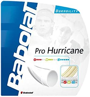 Babolat Pro Hurricane 17-Gauge Tennis String (Natural)