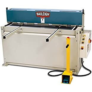 "Baileigh --- SKU # SH-5214 --- 220 Volt Single Phase Hydraulic Powered Shear. 52"" Length 14 Gauge Mild Steel Capacity *** PRODUCT SHIPS DIRECT FROM THE USA, AND WILL REQUIRE CUSTOMS IMPORT CLEARANCE."