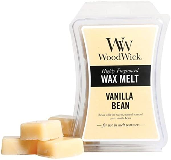 Woodwick Wax Melt 3 Oz Set Of 3 Vanilla Bean
