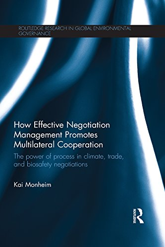How Effective Negotiation Management Promotes Multilateral Cooperation: The power of process in climate, trade, and biosafety negotiations (Routledge Research ... Environmental Governance) (English Edition)