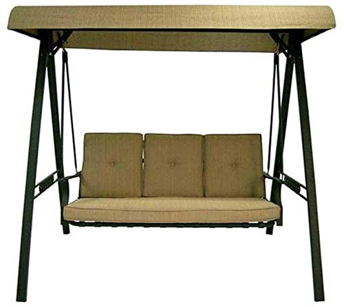 Replacement Swing Canopy for North Haven 3 Person Cushion Garden Swing SC-J-100GS