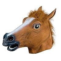 EIN HIGHLIGHT AUF JEDER PARTY - Verkleide dich als Pferd horse Joker auf kommenden Faschings- & Karnevalsfesten sowie Mottopartys. Damit wird auch die langweiligste Fete wieder ein Knaller. Ein Hit auf jeder Party! VERWECHSLUNGSGEFAHR - Durch das rea...