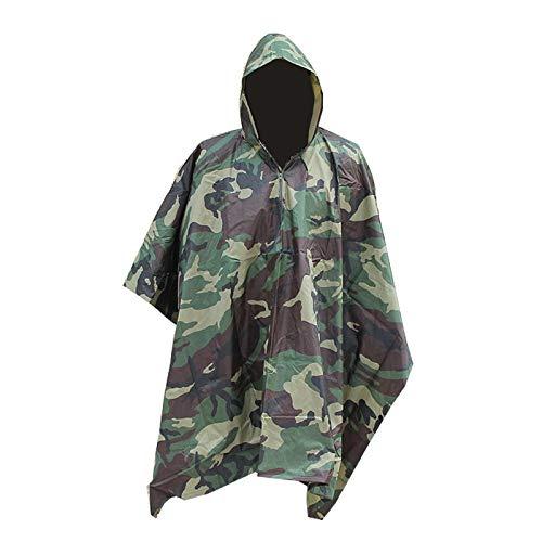 Starry Sky Men Military Impermeable Camo Raincoat Waterdichte regenjas voor mannen Raincoat vrouwen luifel regen motorfiets regenponcho