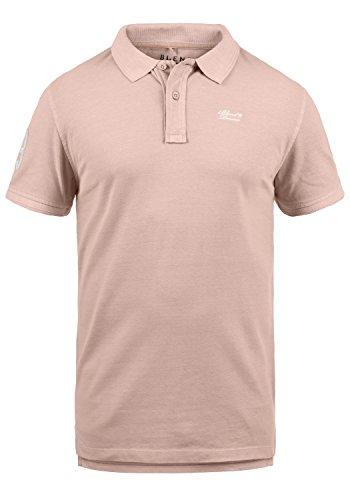 BLEND Dave Camiseta Polo De Manga Corta para Hombre con Cuello De Polo De 100% algodón, tamaño:L, Color:Cameo Rose (73835)