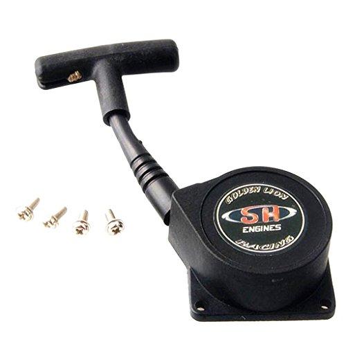 MagiDeal Juegos para Radiocontrol RC 1: 8 Nitro Coche SH 28 Arrancador de Arranque con Tornillo Ts3a-1 Ts3a Motor Hsp