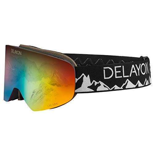 DELAYON CORE 2.0 Goggle – Tao Visier Space Fire