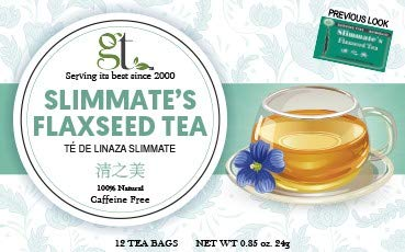 GoTo Tea Slimmate Tea with Flaxseed (12 Tea Bags) 2-Pack