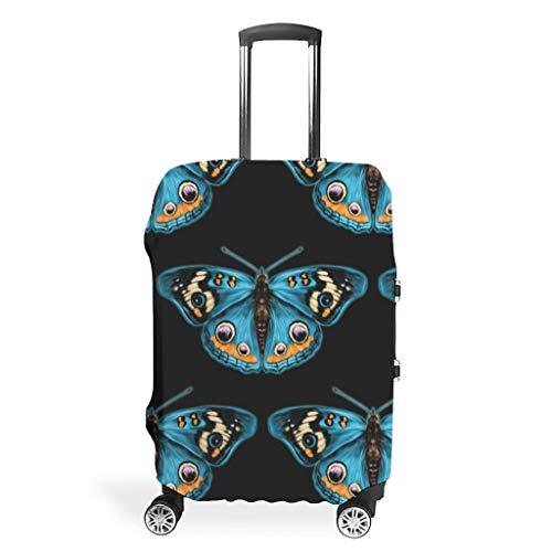 Funda protectora para equipaje de viaje, resistente al polvo, multitamaño, se adapta a la mayoría de equipajes., blanco (Blanco) - LIFOOST-XLXT