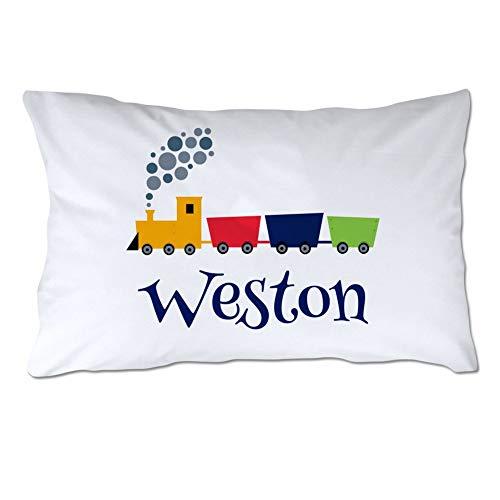 Kysd43Mill Fundas de almohada de algodón de color blanco de 20 x 30 cm, personalizables para niños pequeños, fundas de almohada, fundas de almohada para regalo de Navidad y cumpleaños