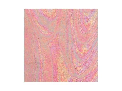efco–Wachs Tabelle, Perlmutt hell rosa, 200x 100x 0,5mm