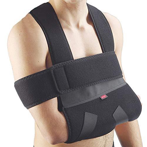 Immobilizzatore spalla e braccio in speciale materiale AuraRaised-cloth traspirante e completamente velcro sensibile per una...