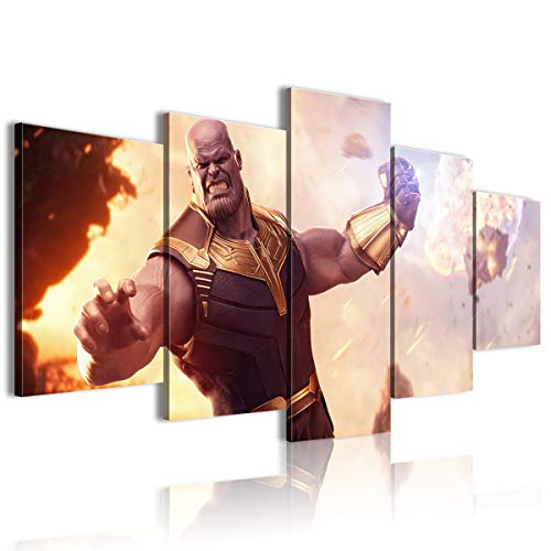 AivGEG Stampe su Tela Film Avengers: Infinity War Halloween 150x80 con Cornice