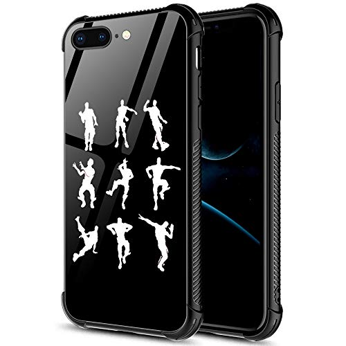 iPhone SE 2020 Case,Funny picture 06 iPhone 8 Case,For Girls Men Boy iPhone 7 Cases,Shockproof Non-Slip Tempered Glass Pattern Design Case for Apple 7/8/SE2 4.7-inch