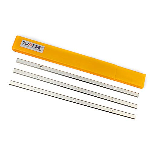 Planer Blades 13 Inch Doubled-edged HSS Replacement Planer Knives for Delta 22-580 22-549 22-555 22-590 Wen 6552 Craftsman 21743 Grizzly G0689 Ryobi AP1300 Metabo DH330 Thickness Planer, 3-Pieces Set -  TJATSE, TS-333-3PCS
