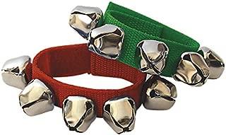 Fuzeau 8442 - Pulsera con 5 cascabeles, color verde/rojo