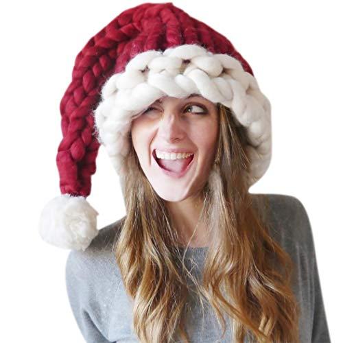 ZOYLINK Damen Weihnachtsmütze Gestrickte Wintermütze Fashion Warm Beanie Hat