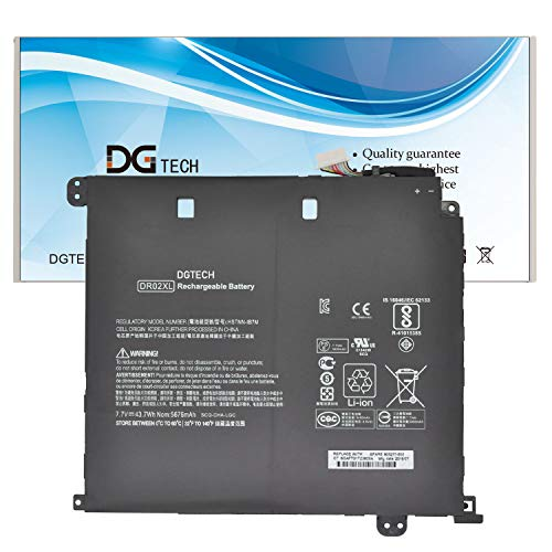 DGTECH New DR02XL Laptop Battery Compatible with HP Chromebook 11 G5 Series (7.7V 43.7Wh)