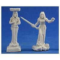 Bones Caryatid Columns (2) Miniature Reaper