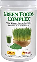 Andrew Lessman Green Foods Complex 600 Servings – Supplies Building Blocks for Healthy Tissue Growth and Liver Support. 100 mg Each of Barley Grass, Wheat Grass, Blue Green Algae, Chlorella, Spirulina