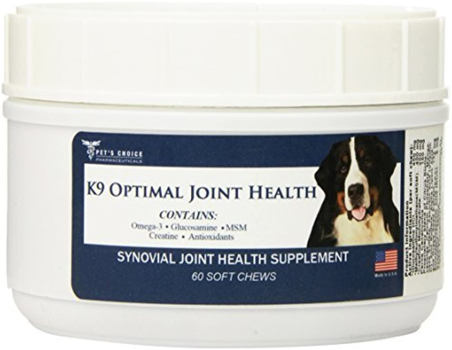 Pet's Choice 60 Count K9 Optimal Joint and Health Supplement by Lambriar Vet