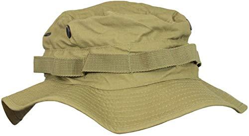 Mil-Tec Boonie Sombrero británico con protección Cuello Ripstop