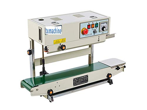 Fantastic Deal! TX Continuous Band Sealer Automatic Continuous Sealing Machine Vertical/Horizontal S...