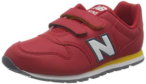 New Balance 500 YV500RRY Medium, Zapatillas Niños, Red (Team Red RRY), 32.5