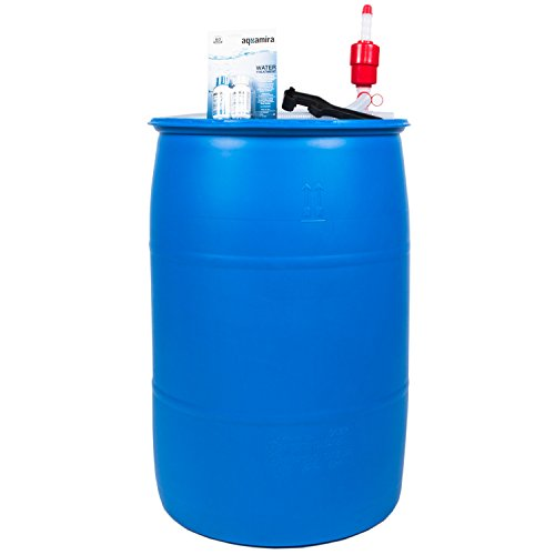 Augason Farms 6-07910 Water Filtration and Storage Kit 55 Gallon BPA-Free Wate 6-07910 Augason Farms Water Filtration and Storage Kit 55 Gallon BPA-Free Wate