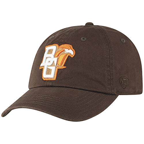 Top of the World Bowling Green Falcons Men's Relaxed Fit Adjustable Hat Secondary Team Color Icon, Adjustable