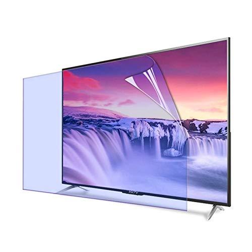 Luz Azul Anti Tv Protector Pantalla, Retirable Anti Arañazos Anti Reflejante Monitores Película Filtro, Sin Burbujas Tv Protector Pantalla Por 32-75'