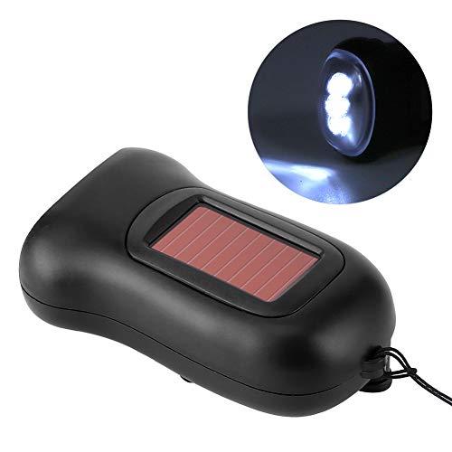 Linterna LED, Linterna de manivela Durable de usar Batería recargable Bombilla LED Generadores operados a mano Linterna Dynamo para acampar para escalar montañas