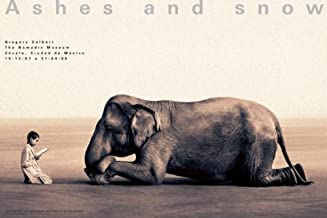Ashes and Snow Mexico Boy Reading to Elephant Poster (Ashes and Snow Posters)