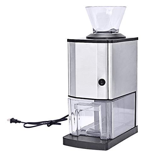 DREAMADE Eiscrusher Eiszerkleinerer Elektronisch, Eiscrusher Maschine,Ice Crusher mit Eisbehälter