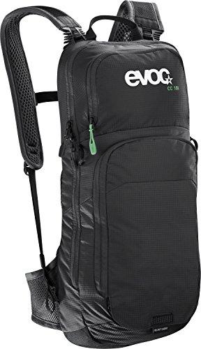 evoc CC 10L + 2L Bladder Performance Rucksack, Black, 50 x 20 x 10 cm, 12 Liter