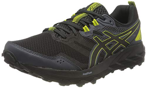 Asics Gel-Sonoma 6, Trail Running Shoe Hombre, Graphite Grey/Sour Yuzu, 42.5 EU