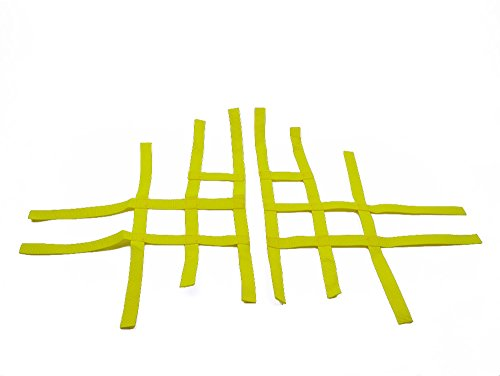 Nerf Bar reti per Yamaha YFM 700R giallo